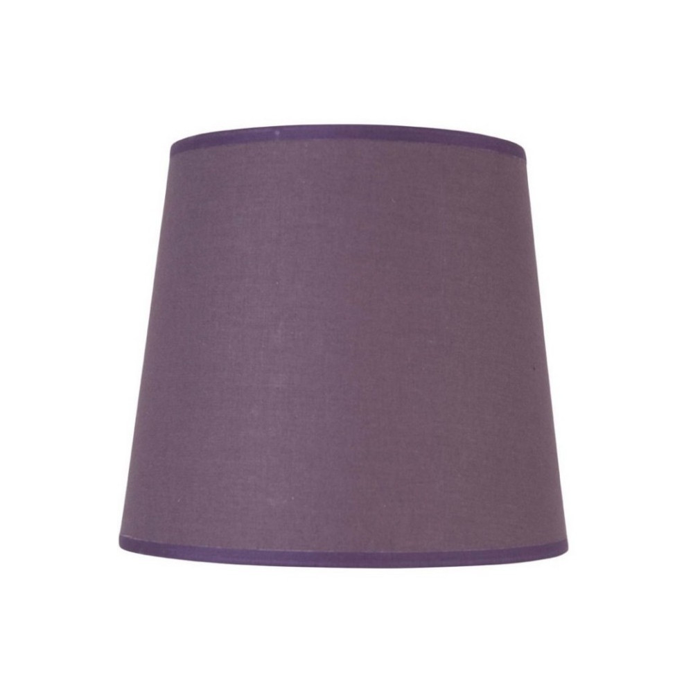 abat jour conique violet fonc lampe avenue. Black Bedroom Furniture Sets. Home Design Ideas