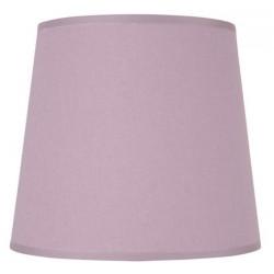 Abat-jour rond violet