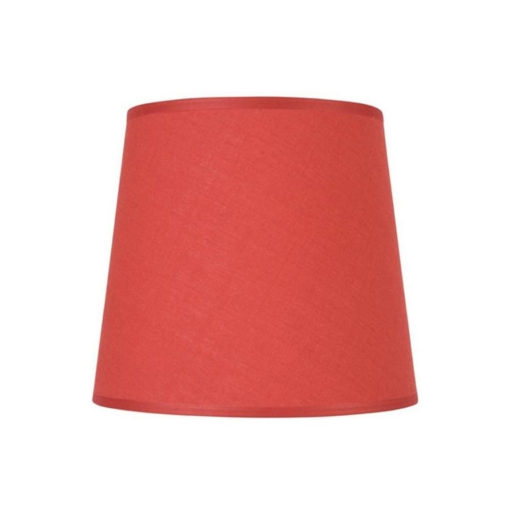 abat jour conique rouge pas cher sur lampe avenue. Black Bedroom Furniture Sets. Home Design Ideas