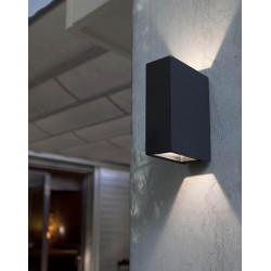 Applique d'exterieur gris anthracite LED