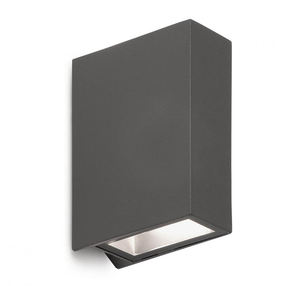 Vente d 39 applique exterieur grise led sur lampe avenue - Applique exterieur anthracite ...