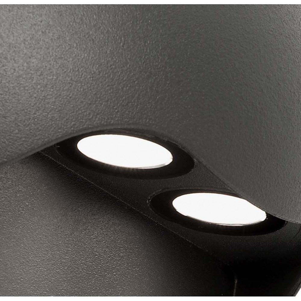 Applique exterieur ronde design futuriste luminaire led for Applique exterieur led design