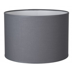 Abat-jour cylindre ardoise