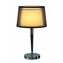 Lampe de table chic double abat-jour