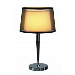 Lampe de table chic double abat-jour