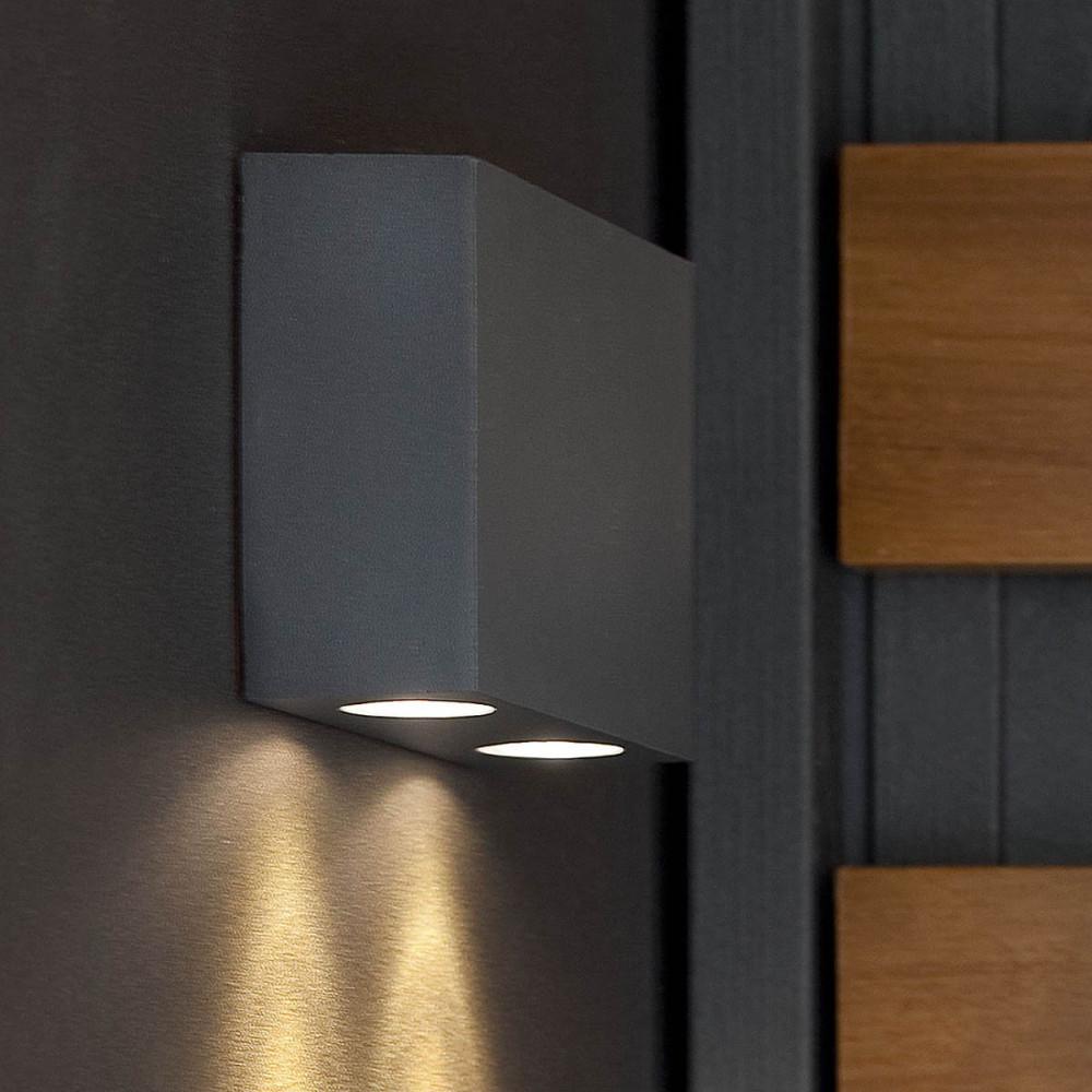 Applique ext rieur fine clairage led vers le bas lampe for Applique eclairage exterieur led