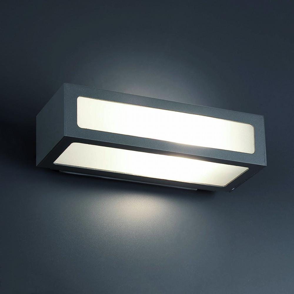 Applique 100w en fonte d 39 aluminium et verre luminaire for Applique eclairage exterieur