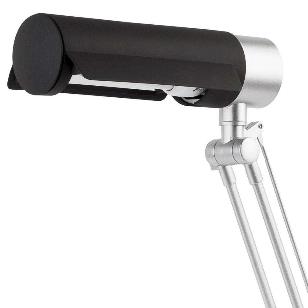 Lampe de bureau noire et grise pas cher sur lampe avenue - Lampe de bureau noire ...