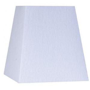 Abat-jour carré pyramide blanc