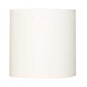 Abat-jour cylindre blanc