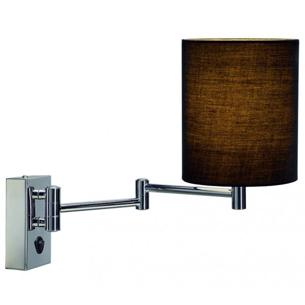 Pour Lampe De Liseuse ChevetAbat Applique Salon Ou Jour Noir Ajq4Rc35LS