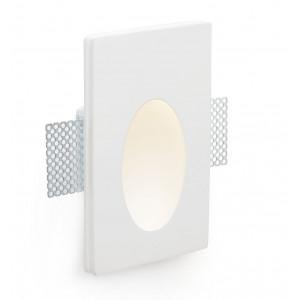 Luminaire LED à encastrer en plâtre