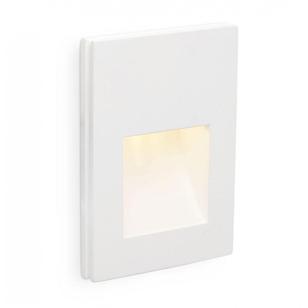 Spot led encastrer totalement dans le mur for Lampe exterieur encastrable