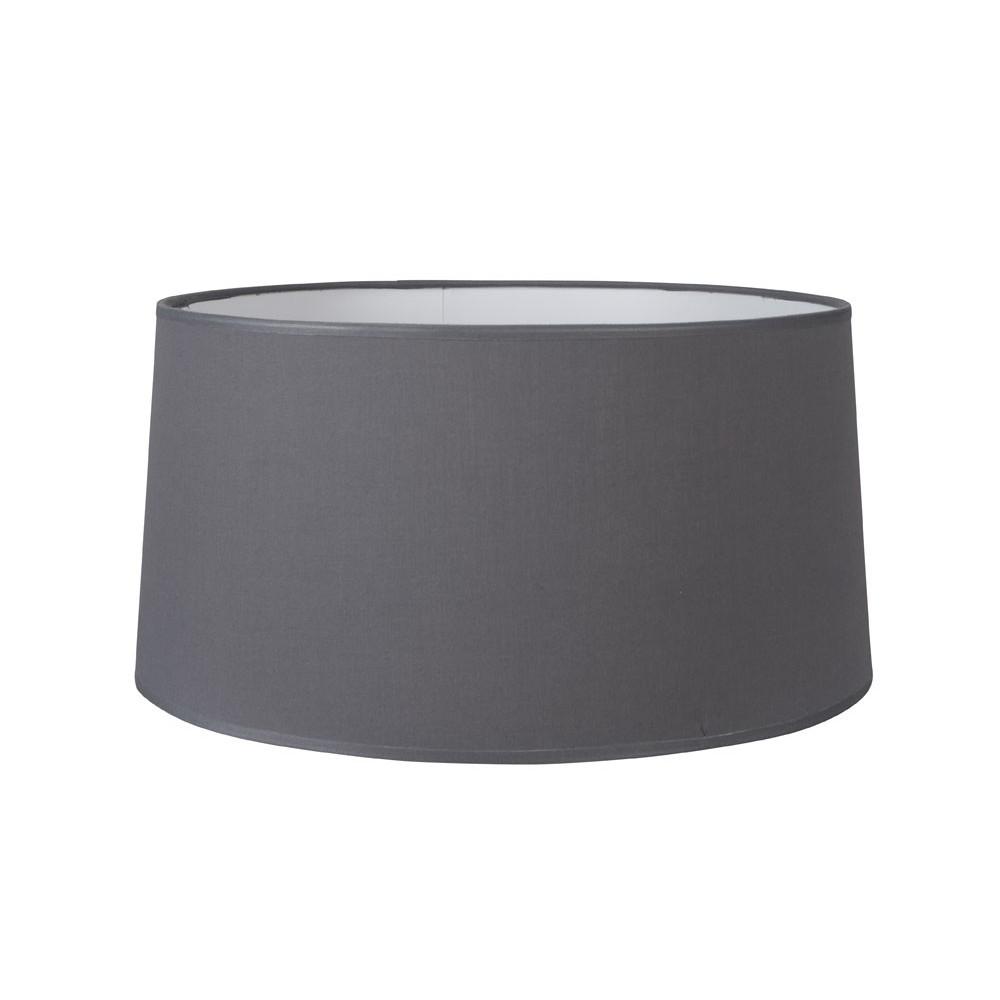 grand abat jour conique gris fonc lampe avenue. Black Bedroom Furniture Sets. Home Design Ideas