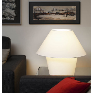 Lampe blanche chic