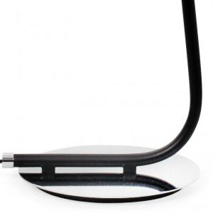 Lampadaire noir au design élégant