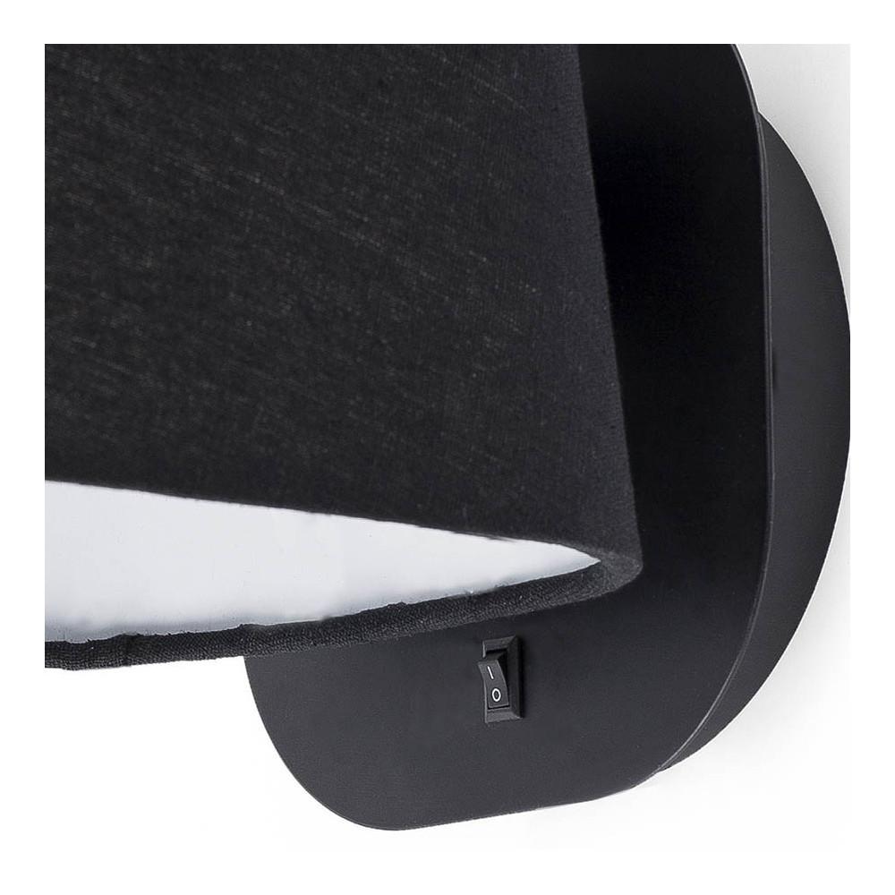 Chevet Interrupteur Murale Noire Applique Avec De Lampe bf6vY7yg