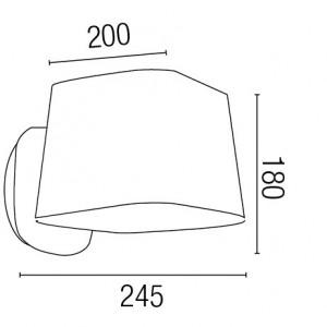 Applique lampe chevet dimensions