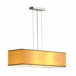 Suspension luminaire beige
