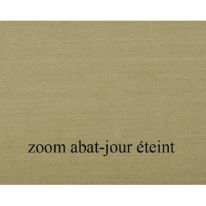 zoom abat jour suspension