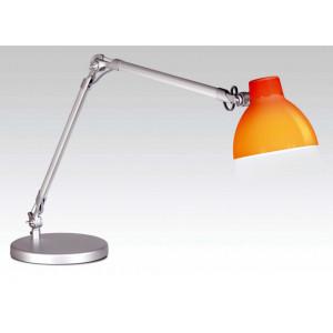 lampe bureau articul e orange faro lampe avenue. Black Bedroom Furniture Sets. Home Design Ideas
