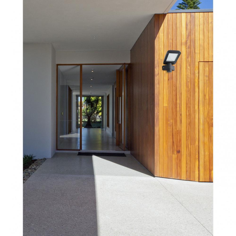 applique ext rieure grise led clairage fort en vente sur lampe avenue. Black Bedroom Furniture Sets. Home Design Ideas