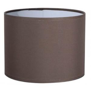 Abat-jour cylindre café