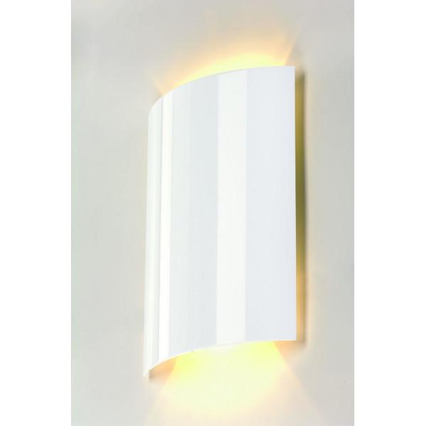 applique murale blanche au design l gant id ale pour un. Black Bedroom Furniture Sets. Home Design Ideas