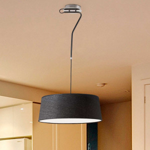 Suspension noire moderne