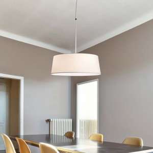 Suspension blanche moderne