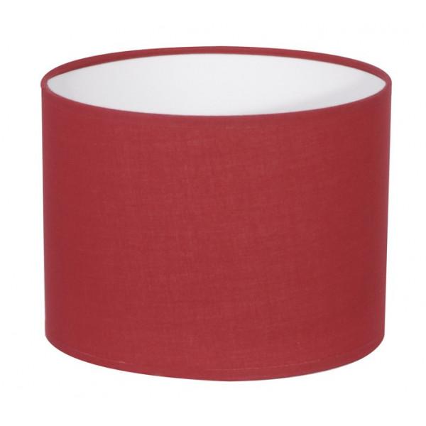 abat jour cylindre rouge cerise sur lampe avenue. Black Bedroom Furniture Sets. Home Design Ideas