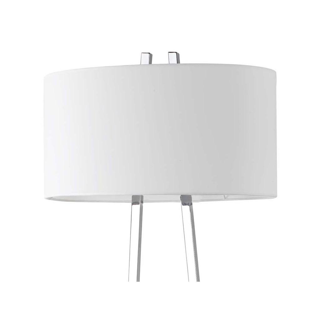 lampadaire chic et design abat jour blanc et structure. Black Bedroom Furniture Sets. Home Design Ideas