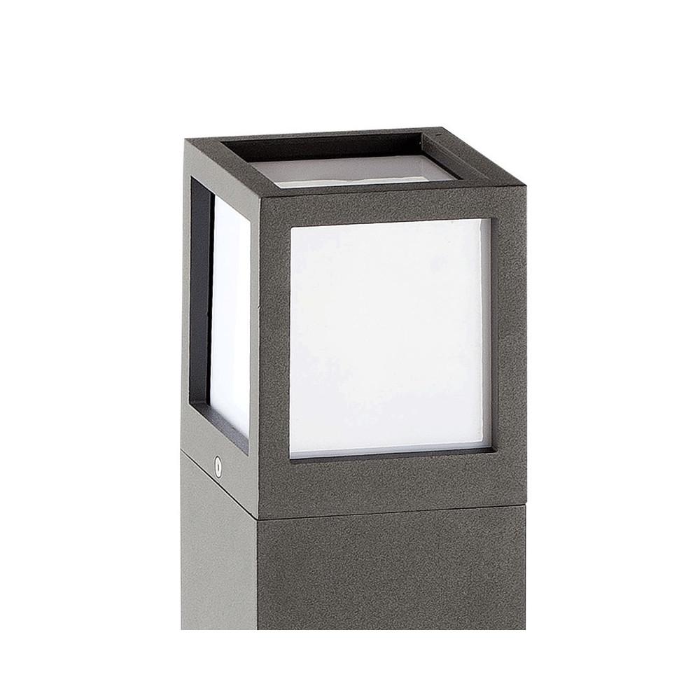 Balise design alu · balise exterieur grise