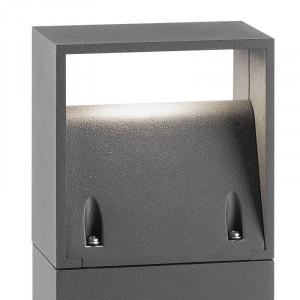 Luminaire exterieur gris