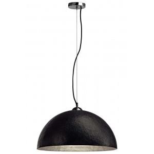 Grande suspension cuisine noire