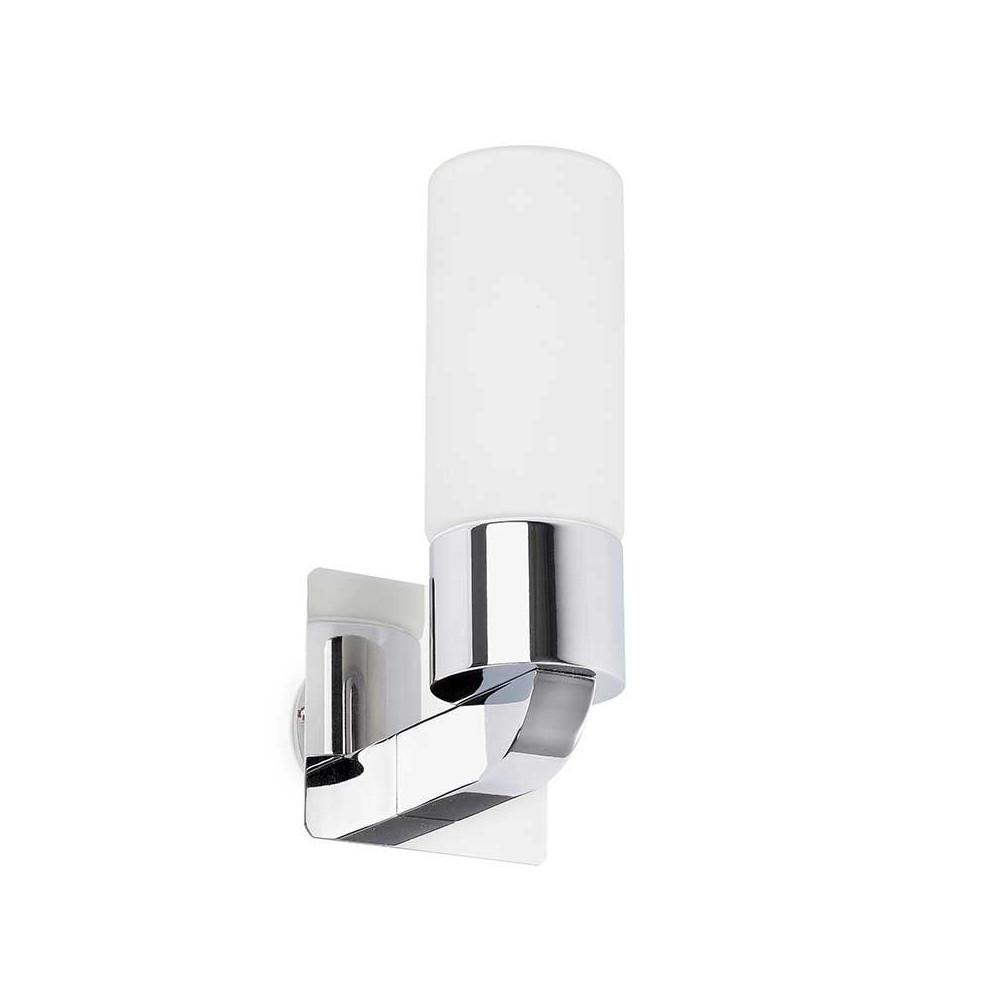 Applique chrom e salle de bain ip44 en alu voir sur for Ampoule applique salle de bain