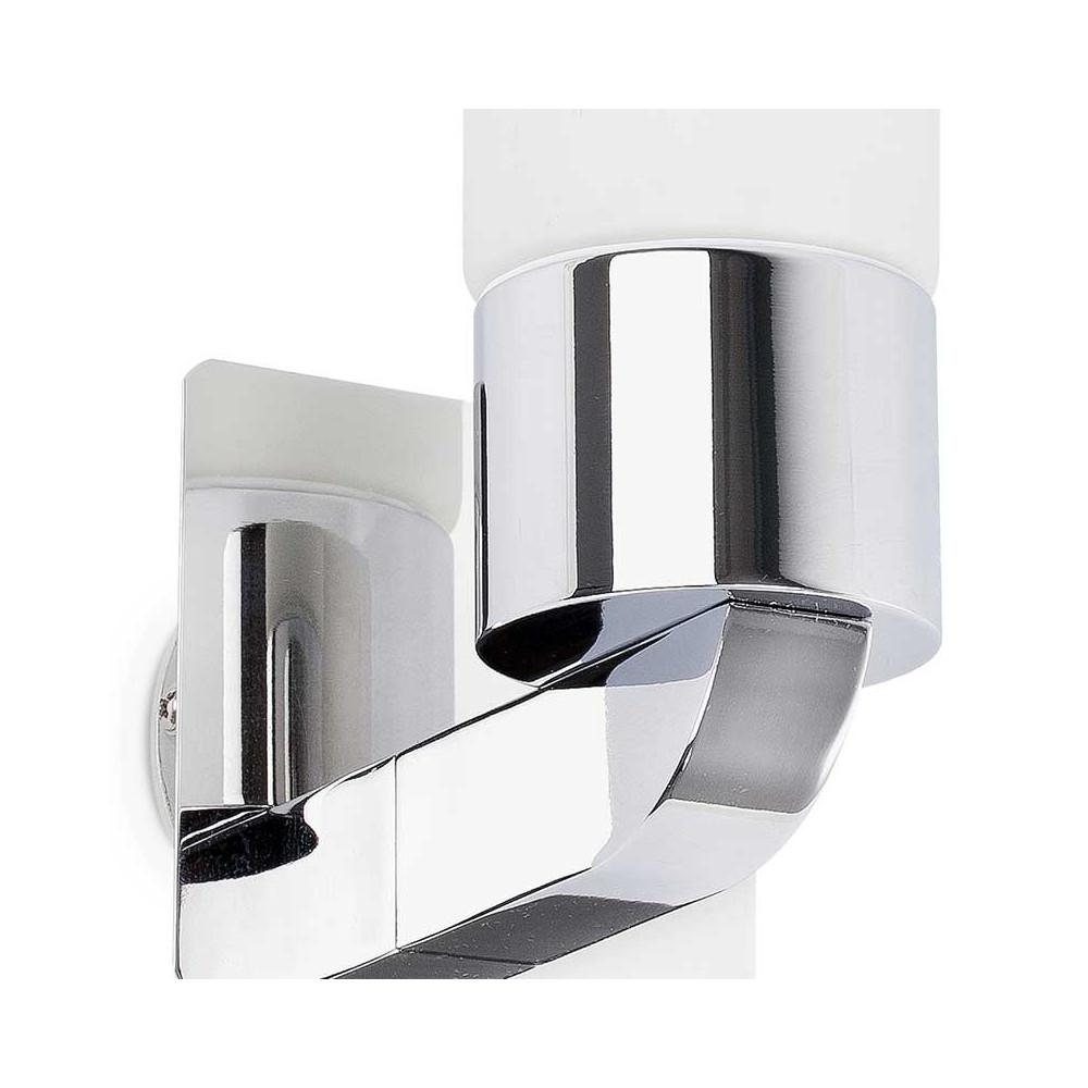 Applique chrom e salle de bain ip44 en alu voir sur lampe avenue - Applique salle de bain ...