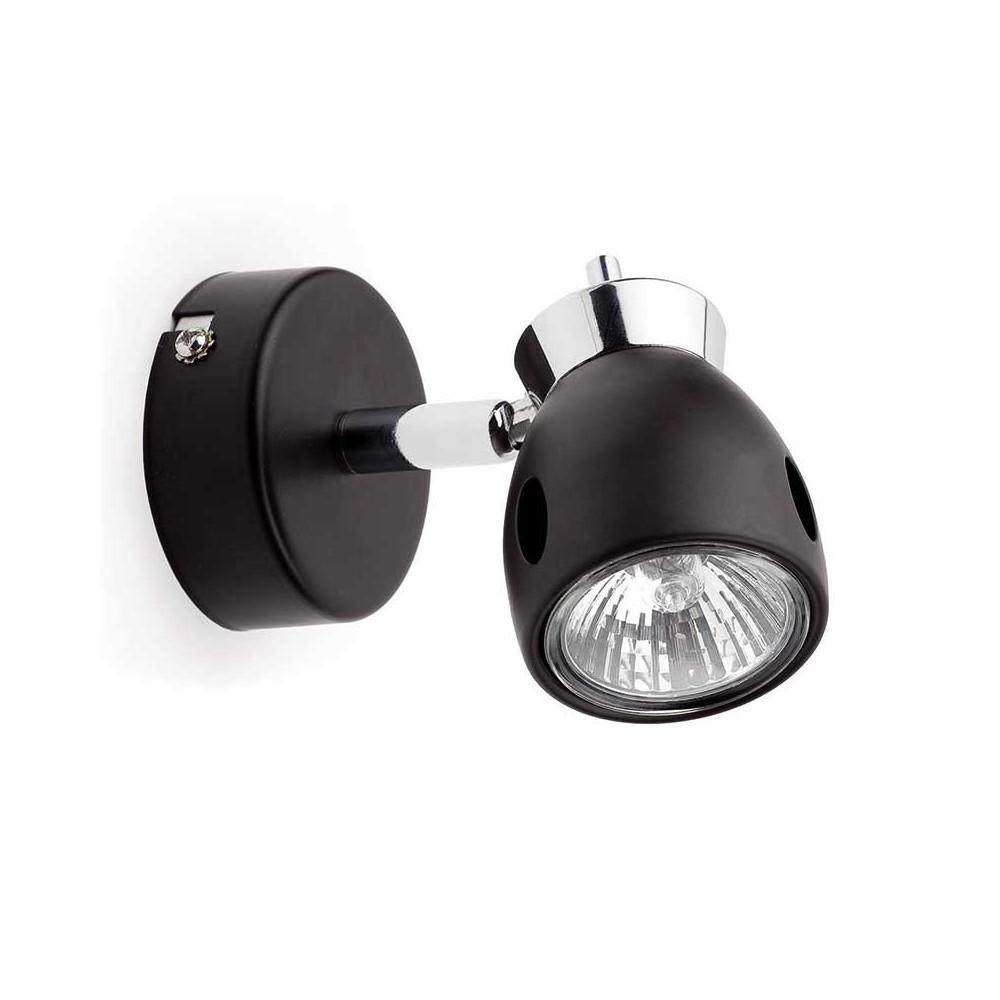 Applique spot noir pas cher en vente sur lampe avenue - Suspension noire pas cher ...