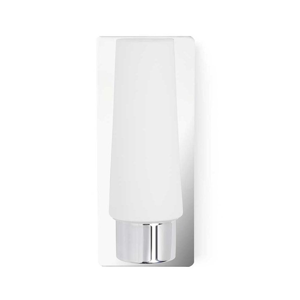 applique pour salle de bain en verre et m tal chrom lampe avenue. Black Bedroom Furniture Sets. Home Design Ideas