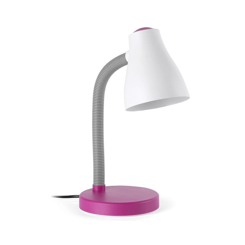 Lampe de bureau rose flexible pour enfant une lampe tr s for Lampe de table rona