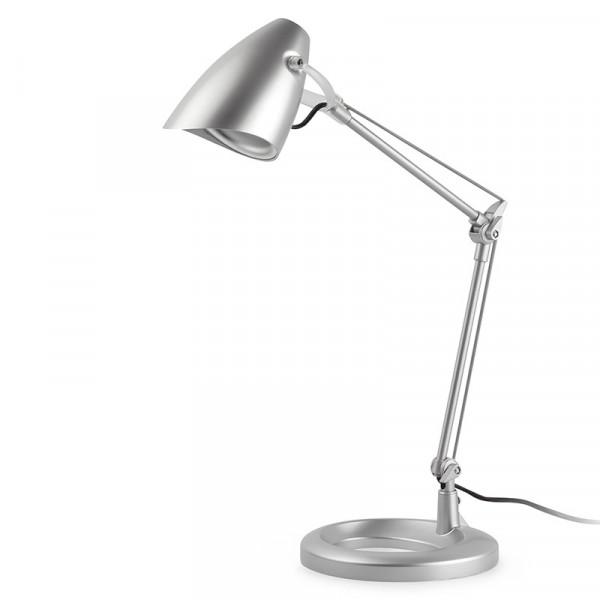 Lampe de bureau grise luminaire articul de bureau design - Lampe bureau articulee ...