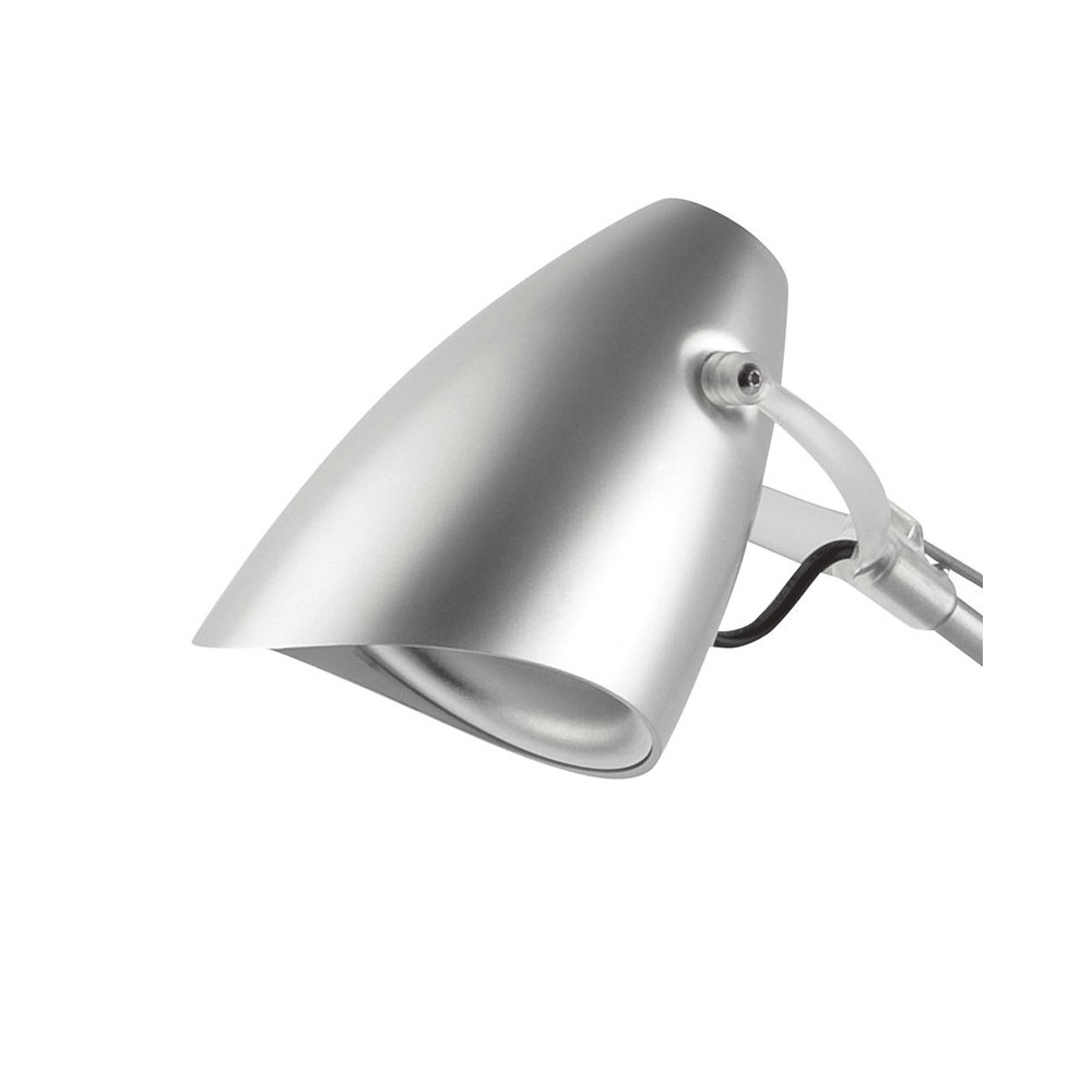 lampe de bureau grise luminaire articul de bureau design. Black Bedroom Furniture Sets. Home Design Ideas