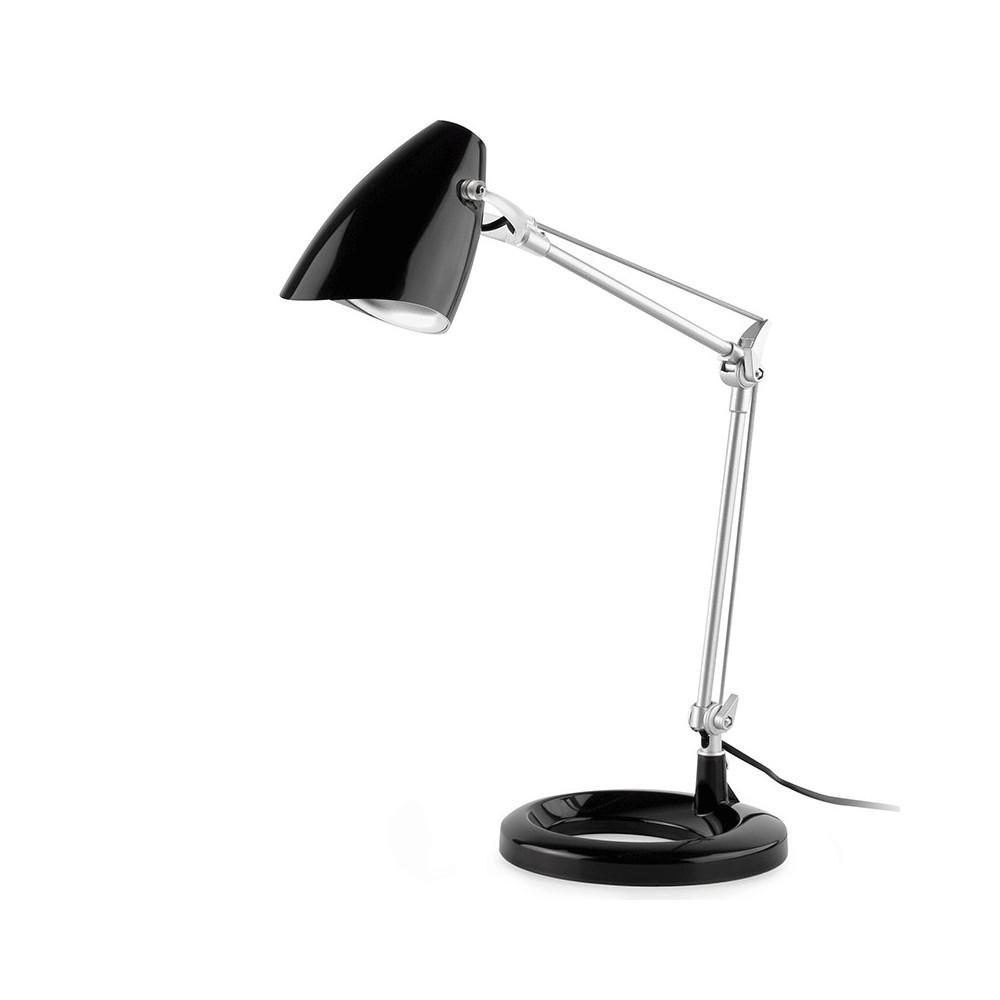 Lampe de bureau noire design luminaire bureau faro - Lampe de bureau articulee ...
