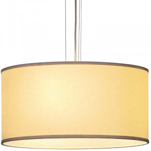 Grande suspension beige