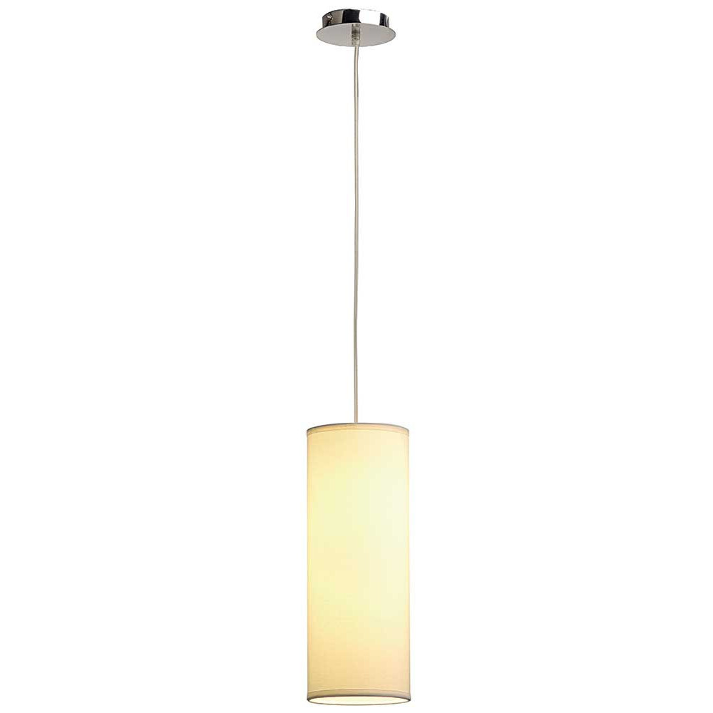 Suspension abat jour blanc pour bar lampe avenue for Suspension design pour salon