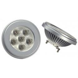 Ampoule G53 LED 10w lumière chaude