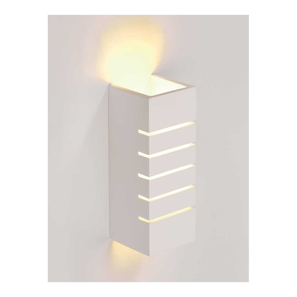 applique pl tre design rectangulaire luminaire int rieur en vente sur lampe avenue. Black Bedroom Furniture Sets. Home Design Ideas