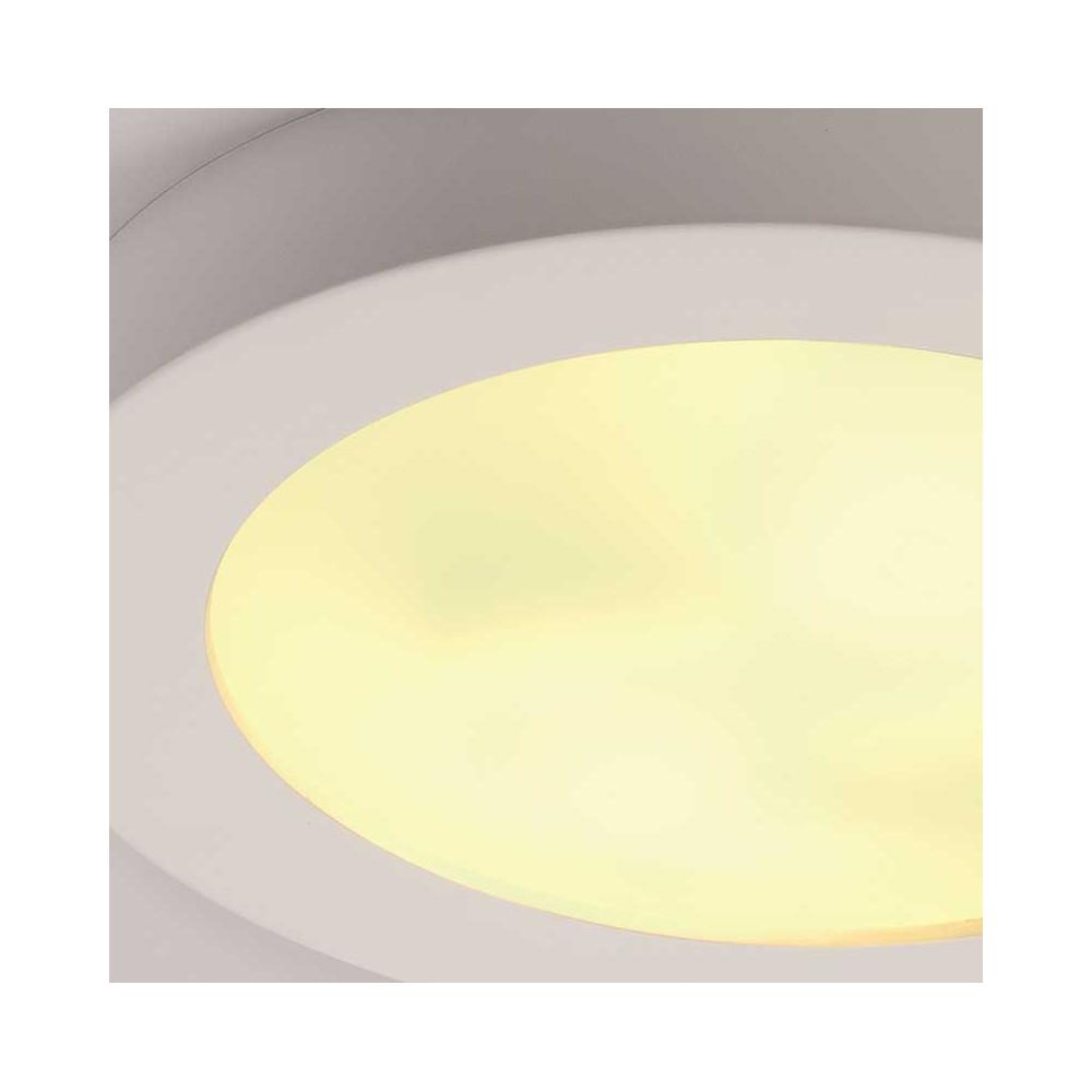 Plafonnier pl tre et verre peindre un luminaire en for Peindre sur platre