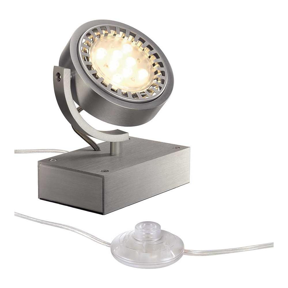 Projecteur poser en aluminium id al pour l 39 clairage d for Spot directionnel pour tableaux