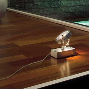 Projecteur à poser au sol en aluminium
